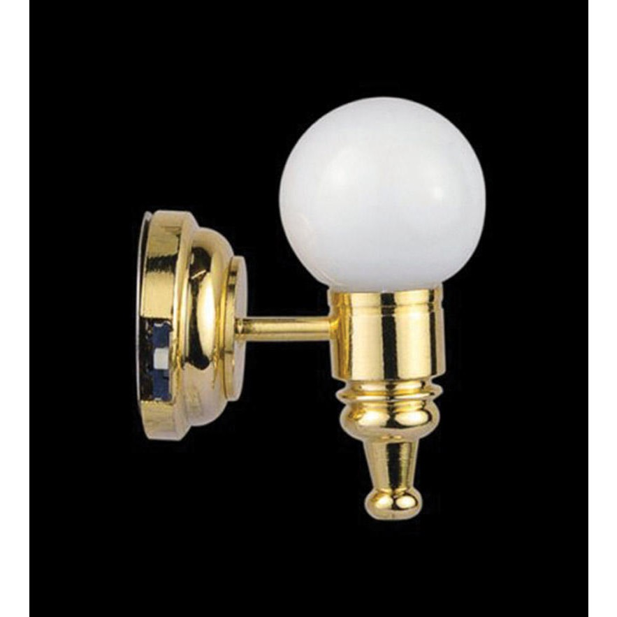 streets ahead battery powered globe wall light. Black Bedroom Furniture Sets. Home Design Ideas