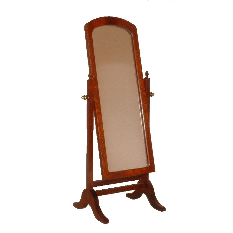 Mcqueenie miniatures cheval mirror for Cheval mirror