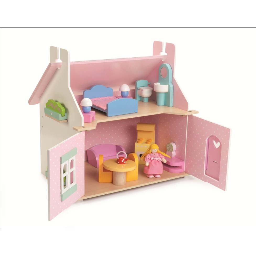 Le Toy Van Lily S Cottage With Furniture