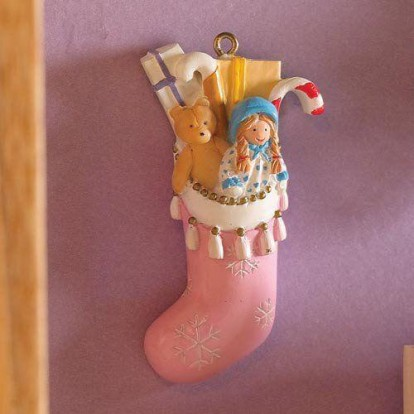 Dolls House Miniatures 1//12th Scale Son/'s Filled Stocking 5018