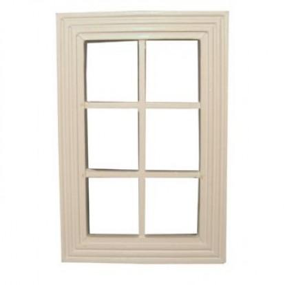 Dolls House Diamond Leaded Window Glazing/Acetate A4 Zabawki
