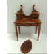 Victorian-style Dressing Table Walnut Finish  ***SECONDS***
