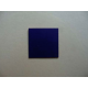 "3/4"" Dark Blue Vinyl Tiles, 50 Pack"