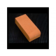 Multi Red Bullnose On Flat Bricks, 25 Pack