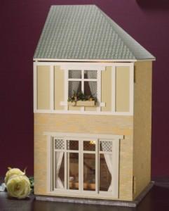 Oak Hurst Gardens garage wing kit Dolls House Emporium