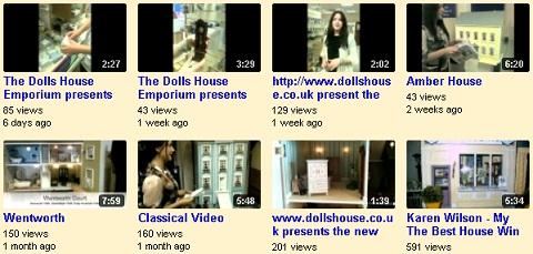 Dolls House Emporium product videos