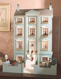 The Classical Dolls' House with its basement