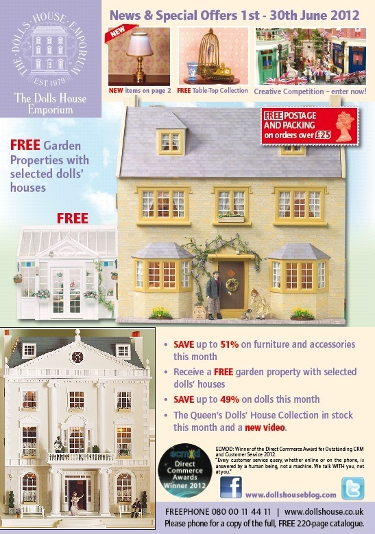 June news and offers from The Dolls House Emporium