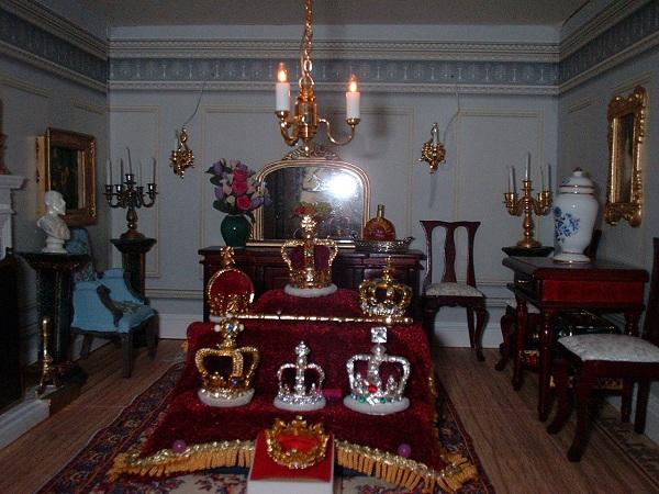 Dolls' house jubilee photo