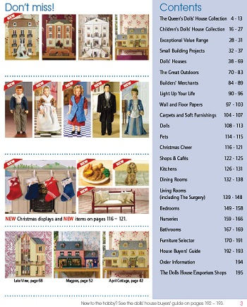 Sneak preview of the 2012-13 Dolls House Emporium catalogue