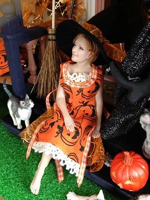 Karen Watchus' Hallowe'en outfit