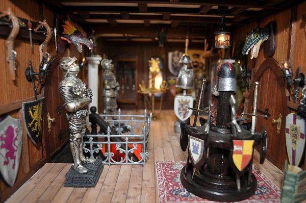 Castle Armoury - Tony Middleton's Cumberland Castle: The Dolls House Emporium