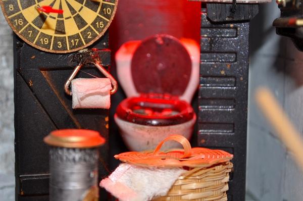 Castle Wizard's Tower Bathroom - Tony Middleton's Cumberland Castle: The Dolls House Emporium