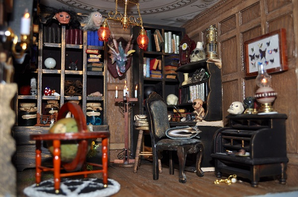 Wizard's Tower Study - Tony Middleton's Cumberland Castle: The Dolls House Emporium