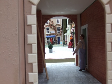 The Archway, by Julie Baker, using The Dolls House Emporium Corner Shop