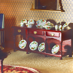 2017Victorian Sideboard with Pot Shelf