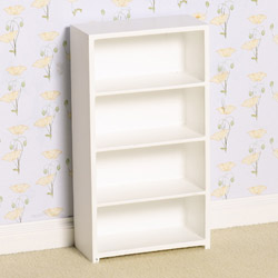 2448White Shelving Unit