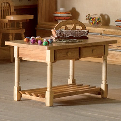3262Kitchen Table with Drawers