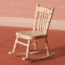4137Hand-painted Nursery Chair