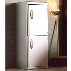 5173'Silver' Fridge Freezer
