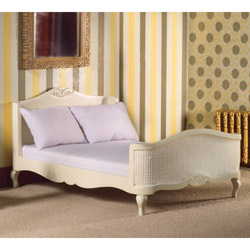 5631French-style Cream Double Bed