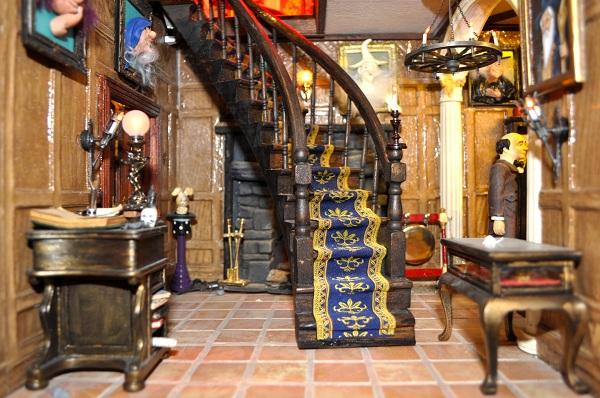 Entrance Hall - Tony Middleton's Cumberland Castle: The Dolls House Emporium