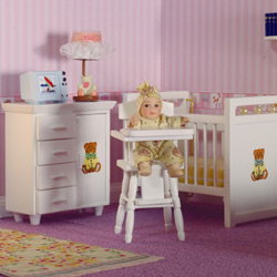 Teddy Nursery Set, 3 pcs