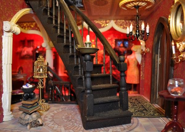 Castle Lounge - Tony Middleton's Cumberland Castle: The Dolls House Emporium