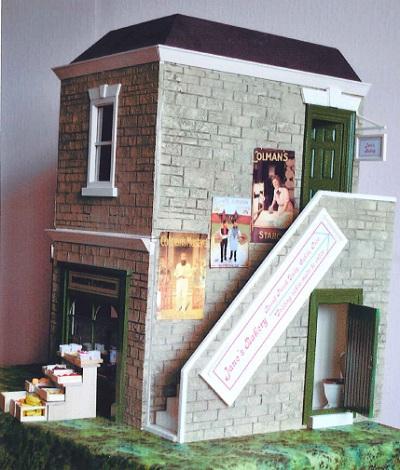 Janet Boorman, The Corner Shop, Edwardian Dolls' House Shop