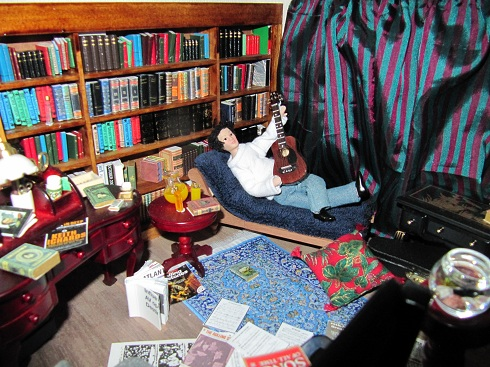 Keith Richards' library