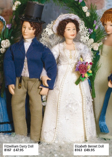 Darcy and Elizabeth high quality dolls