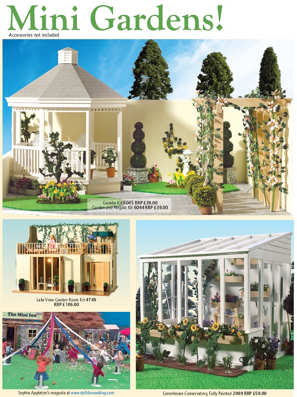 dolls' house garden centre