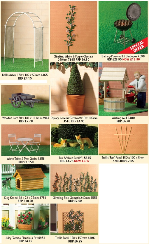 Gardening for dolls' houses