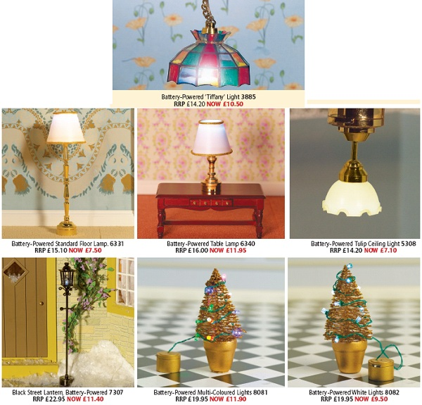 dolls' house lighting offers