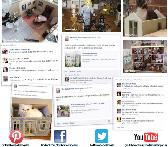social media for dolls' houses