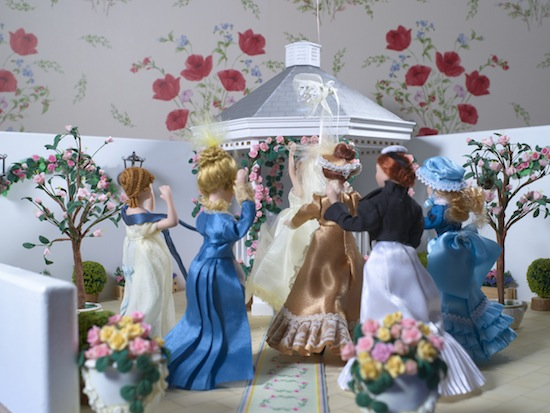 A summer dolls wedding