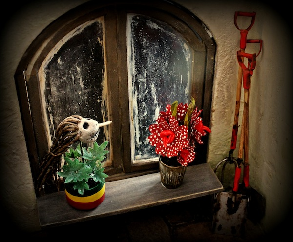 Beastly Botanicals miniature dolls house winner Jayne Woodward