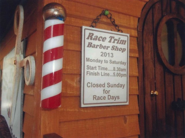 Janice Curtis: Race Trim Barber Shop