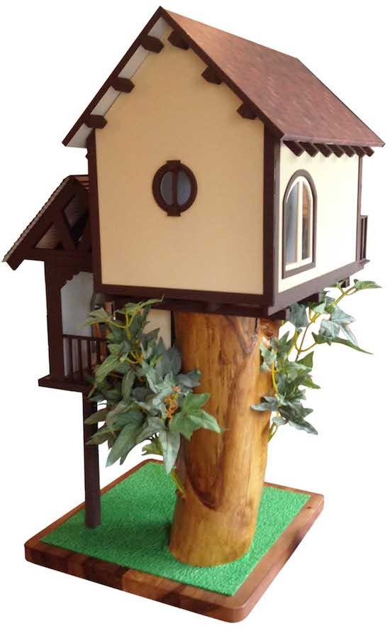 tree house dollhouse