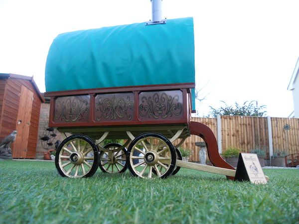 Gypsy caravan made from The Cabin dolls' house