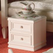 A neat and compact nightstand, perfect for the modern bedroom.