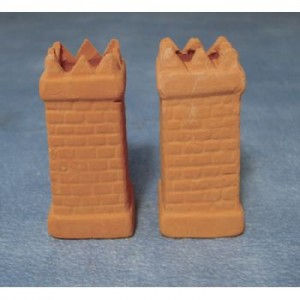 Item DIY662 - Terracotta Chimney Pots