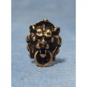 Item DIY66 - 'Antique' Lion Head Door Knocker