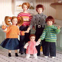 Dolls' house families