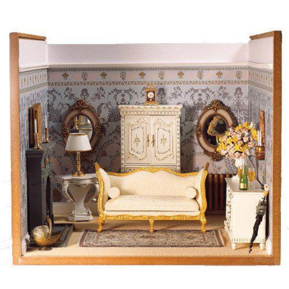 The Dolls House Emporium White Screw Together Display Box