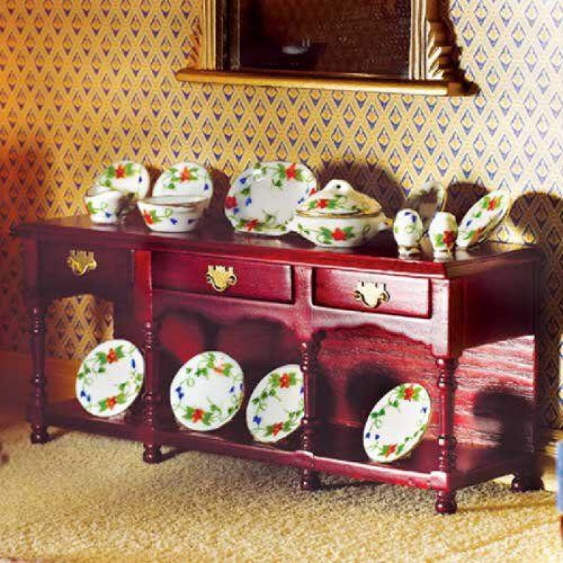 Victorian Sideboard with Pot Shelf (M)