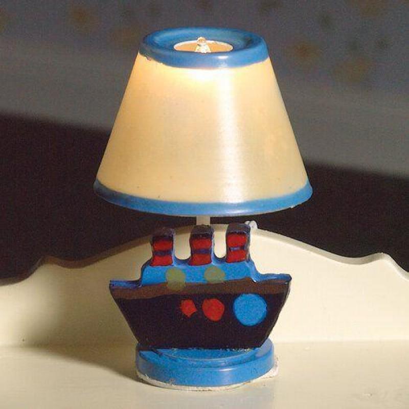 Blue Nursery Lamp 50 x 30mm