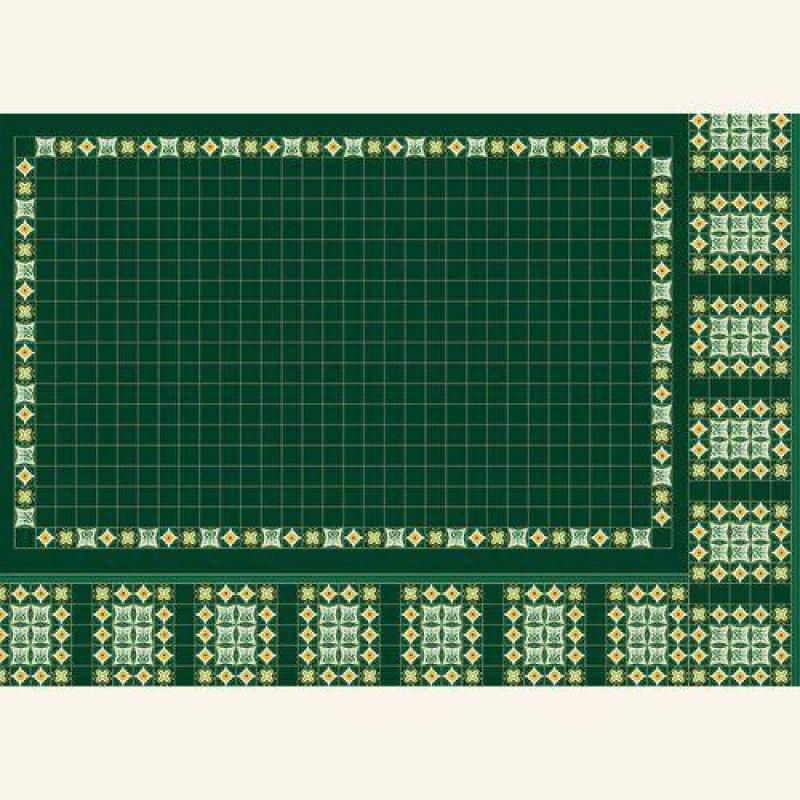 Green Panel Wallpaper 430 x 600mm