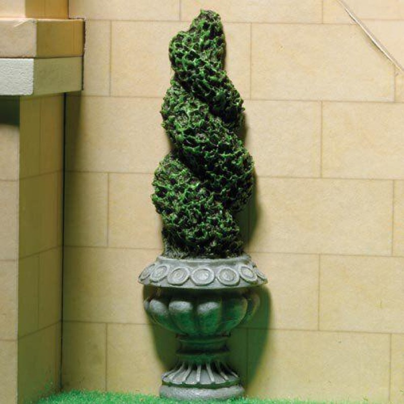 Flat-backed Topiary Twist (PR) 102mm