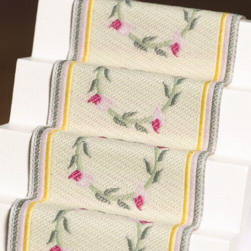 Pink Rose Stair Carpet 500 x 50mm